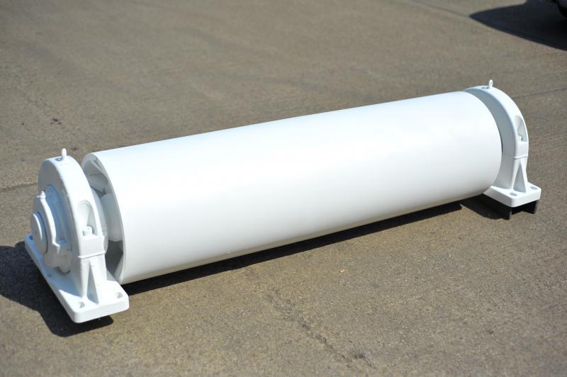belt conveyor pulleys drums rollers philford design
